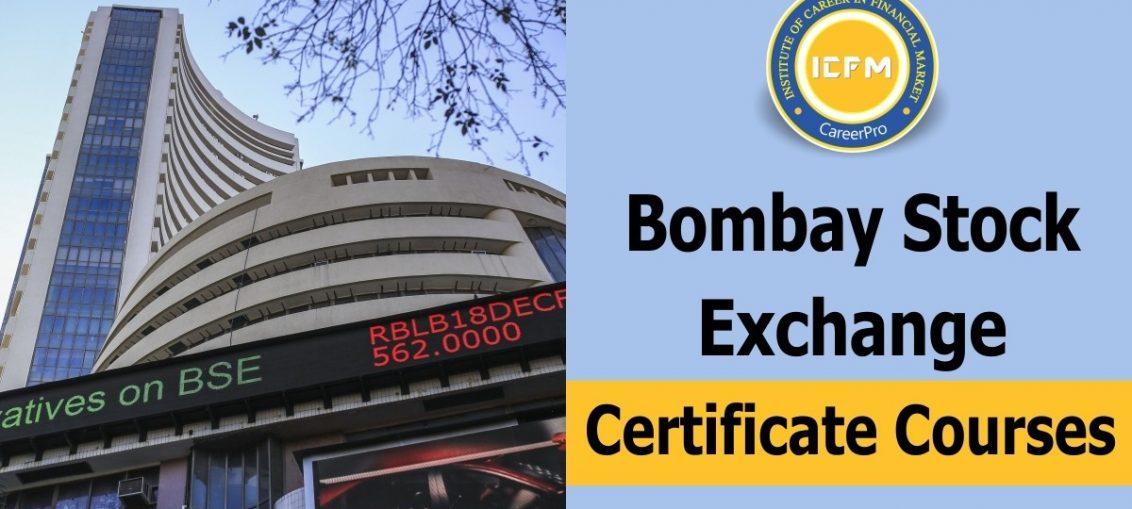 bombay stock exchange certificate courses